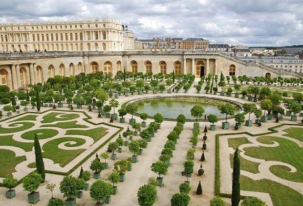 Arquitectura del Barroco Versalles, Versailles, Lugares