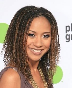 Tracie Thoms Style Baby Curl Twists