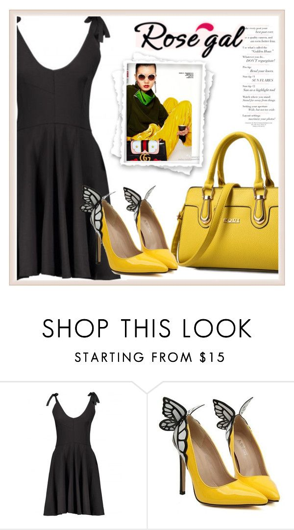 """""""Rosegal 4"""" by aida-fashion ❤ liked on Polyvore featuring vintage"""