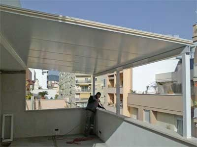 Cierres de terrazas aluminio cierre cerramiento y aticos - Cubiertas de aluminio para terrazas ...