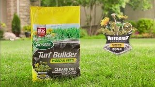 Scotts Turf Builder Weed and Feed Lawn Fertilizer-Lawn Care-Scotts