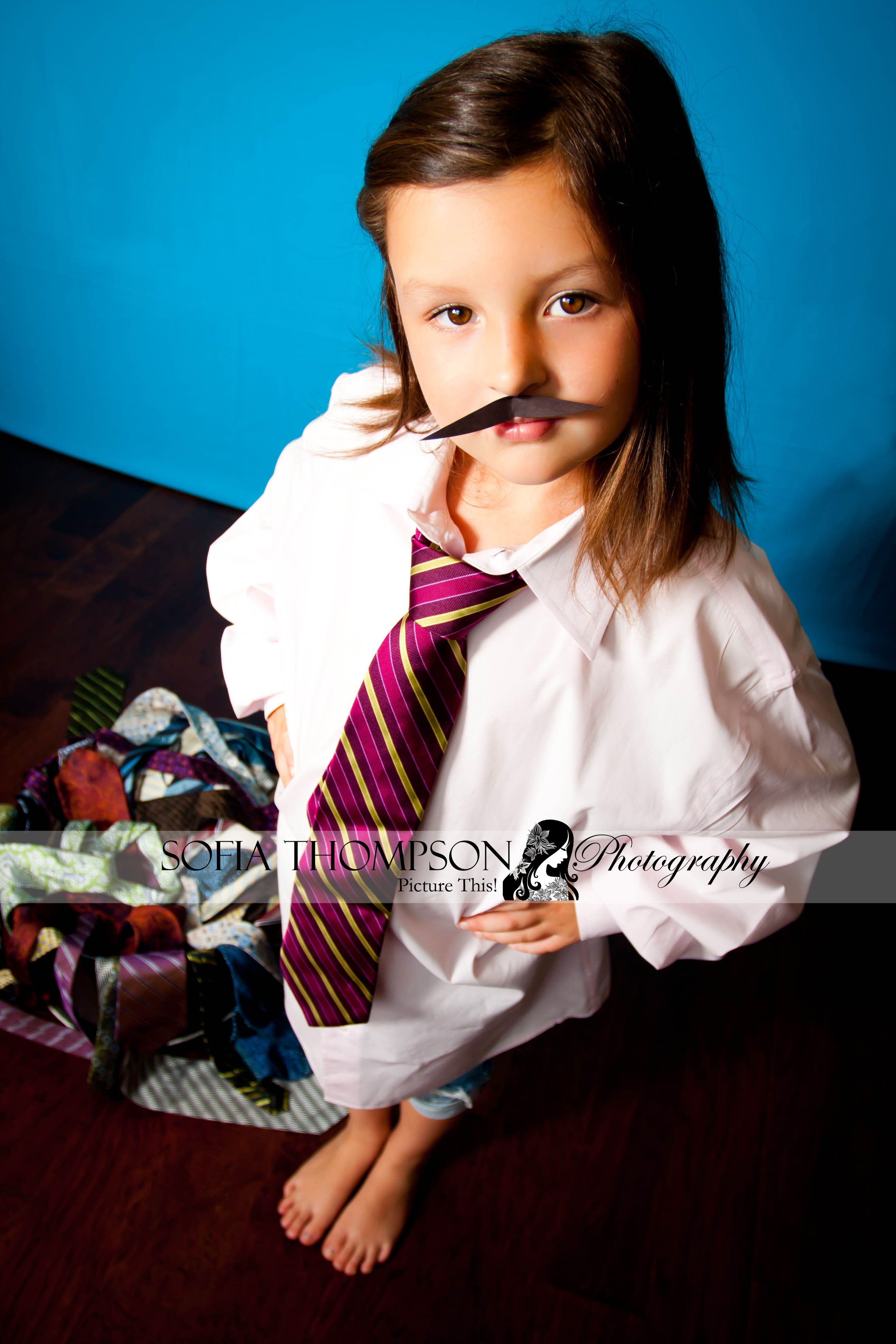 Have The Kids Dress Up Like Dad For A Special