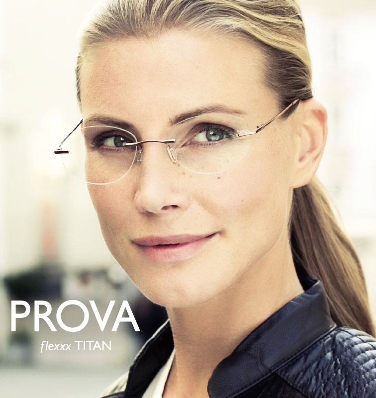 51ab52f013af6e So flexibel wie das Leben  Die Randlos-Brillen von PROVA bestechen durch  ihre extreme Biegsamkeit – denn Brücke und Bügel werden aus einer  speziellen ...