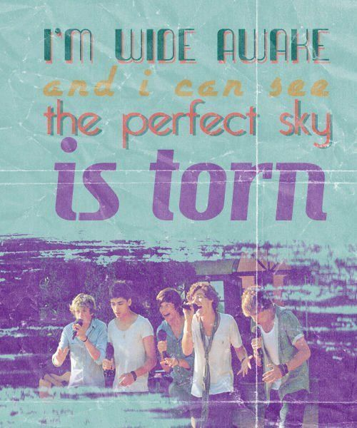 Nothings fine I'm torn  #OneDirection   Quotes/Lyrics in