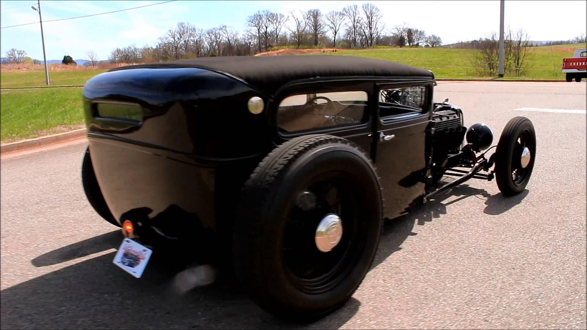 1930 Ford Model A 2 Door Sedan Hot Rod   Adrenaline Capsules ...