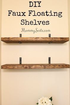 Kitchen Live Edge Floating Shelves Diy Shelf Bracket Living Room