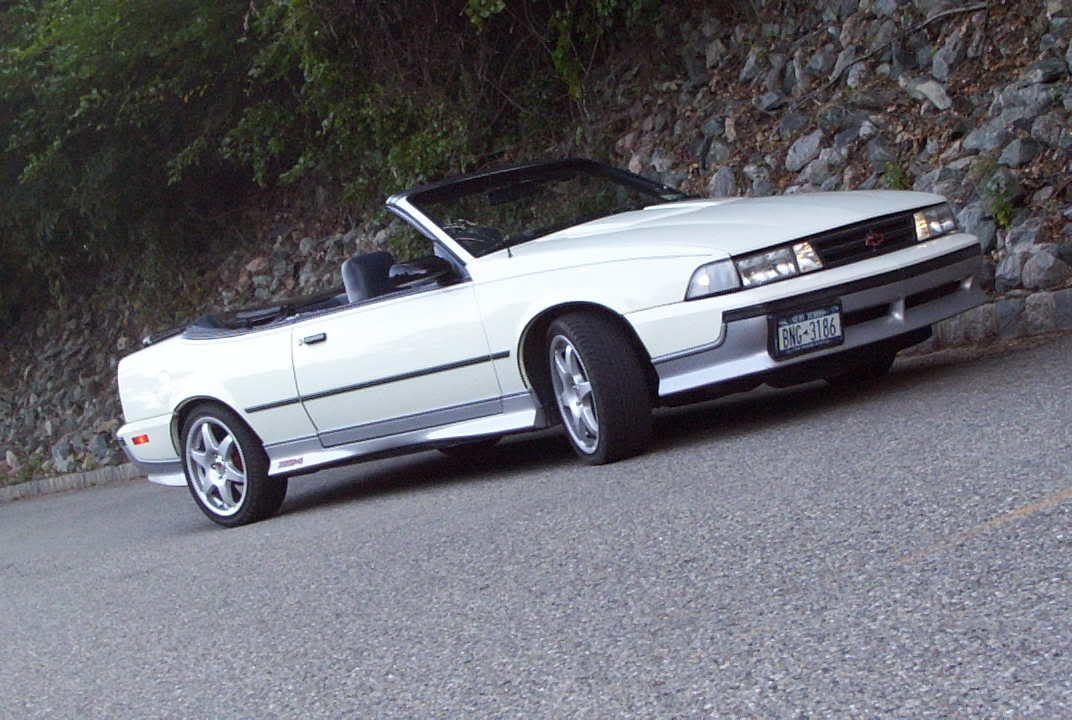 1988 89 Chevrolet Cavalier Z24 Convertible 2 8l Fi Chevrolet