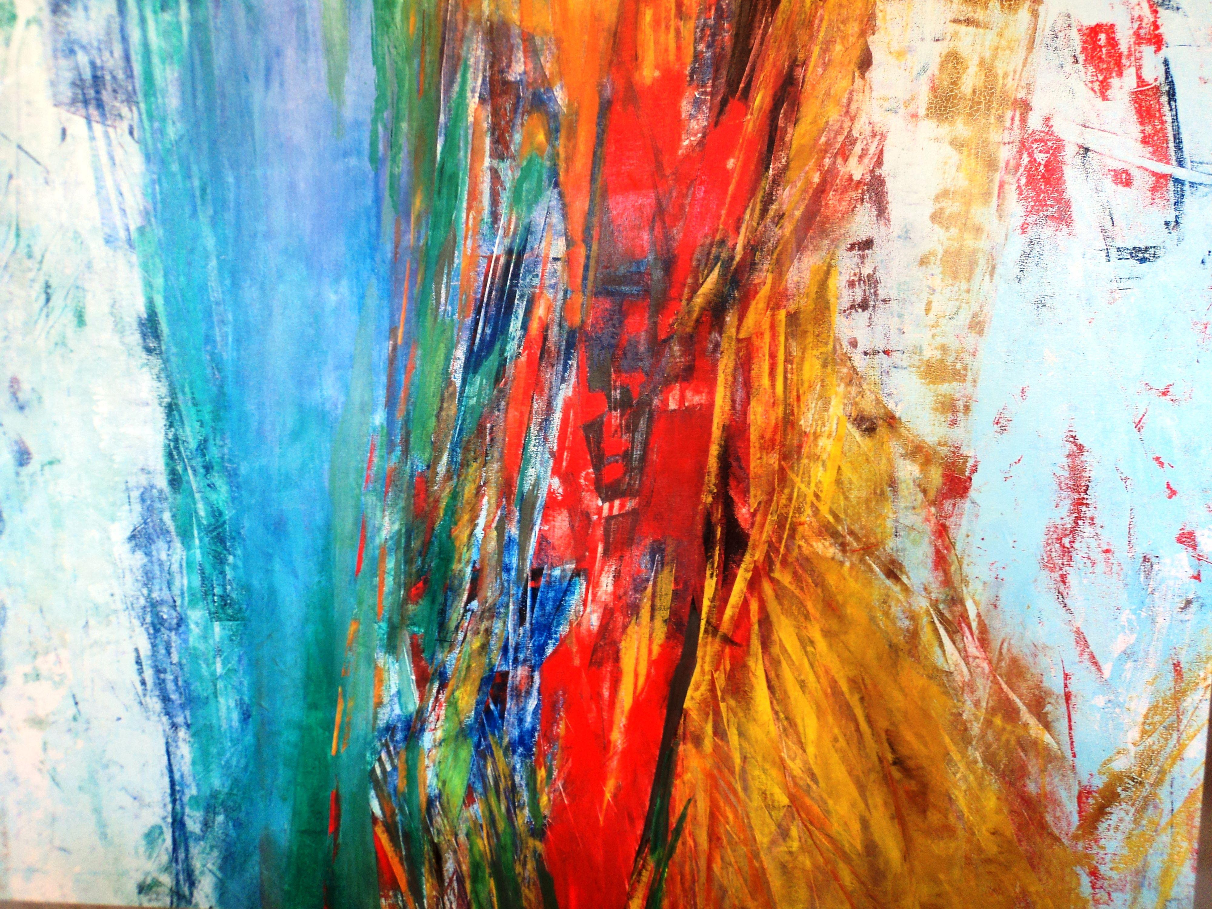 Pintura abstracta elba schwerdt pinturas pinterest - Pinturas acrilicas modernas ...