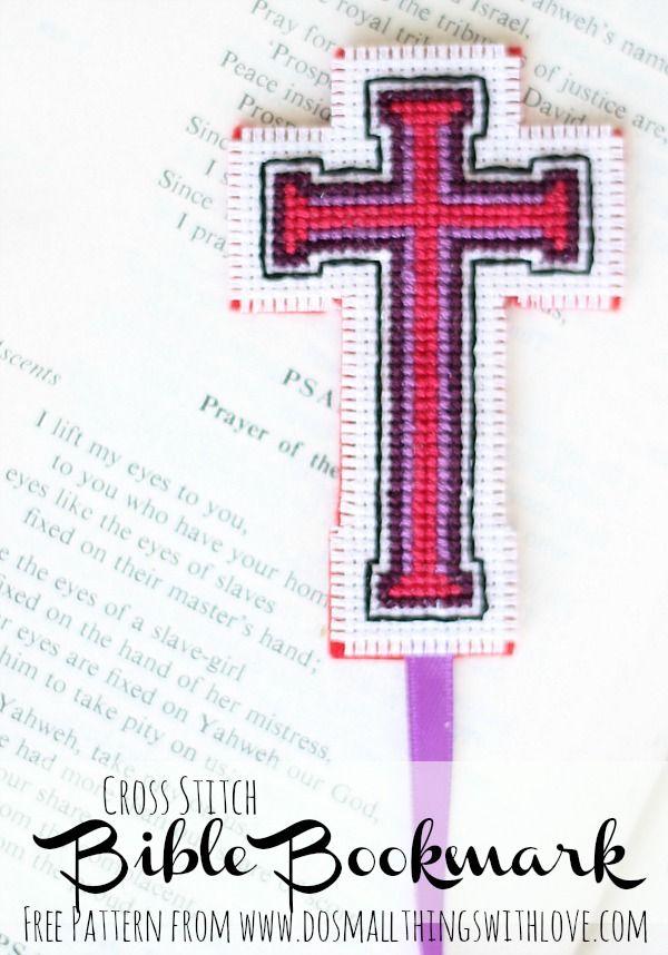 Cross Stitch Bible Bookmarks Christian Cross Stitch Bible