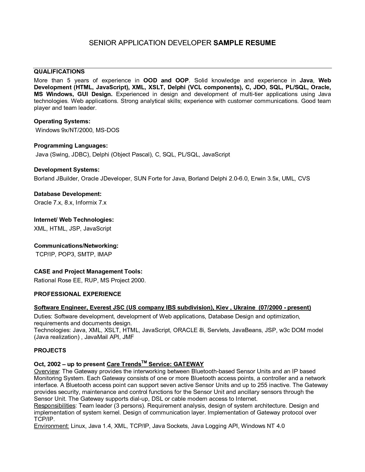 Resumes Examples Qualifications For A Resume Examples 7F8Ea3A2A The Most Resume