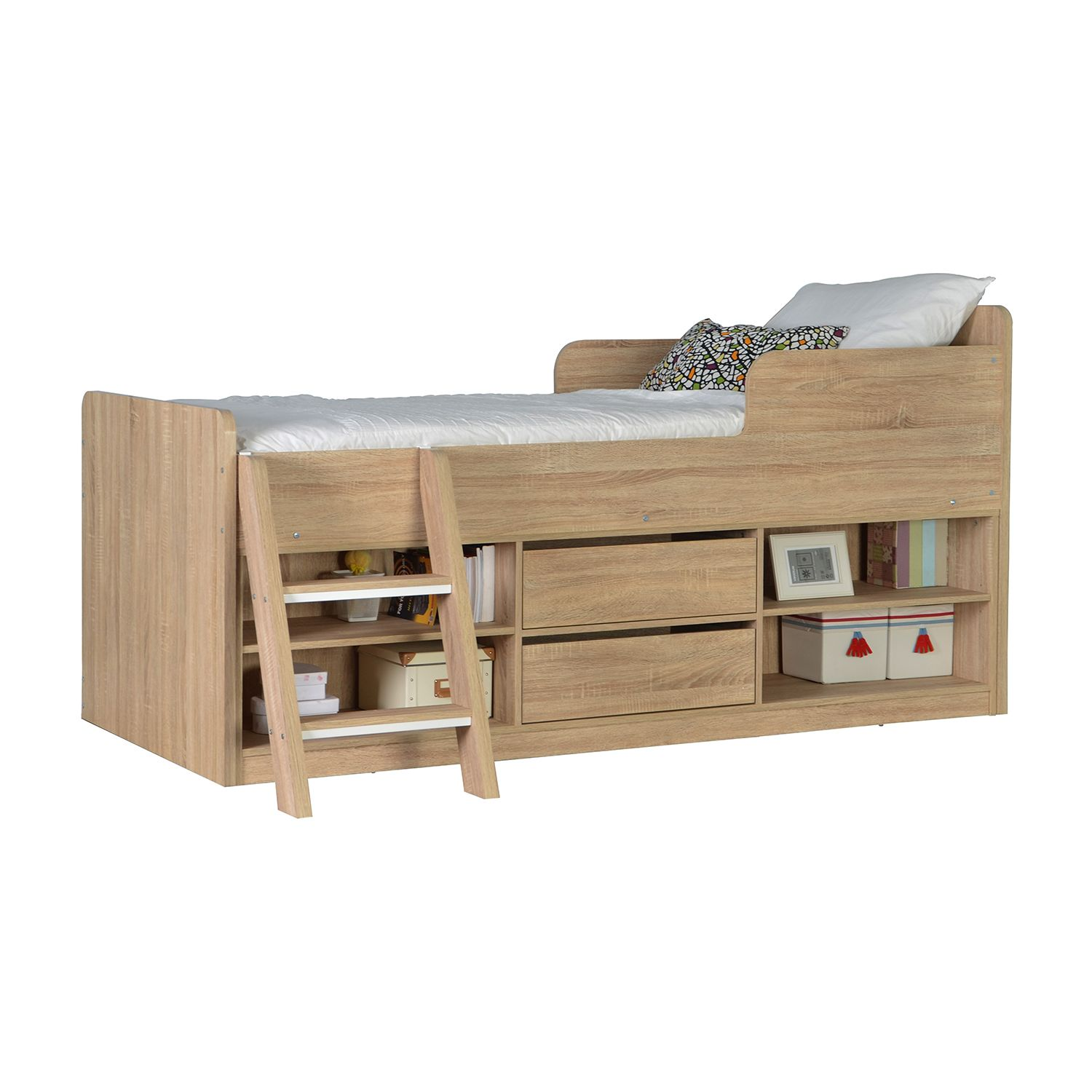 7a62543ac9 Felix Low Sleeper Bed – Next Day Delivery Felix Low Sleeper Bed from  WorldStores  Everything For The Home