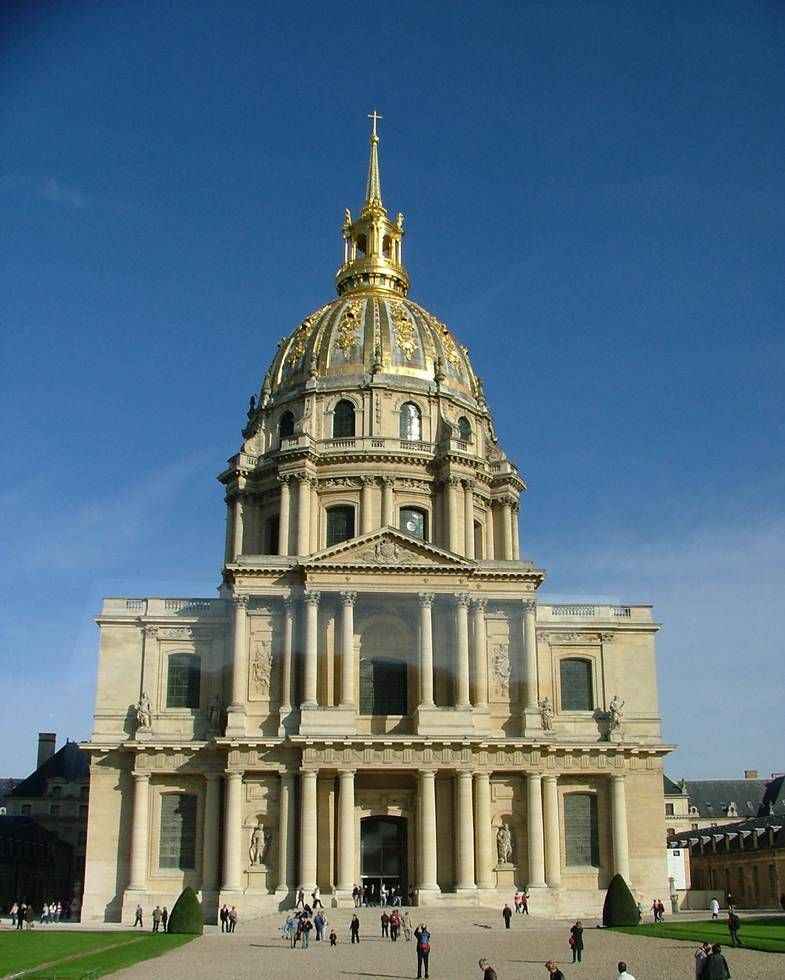 From Wikiwand: Les Invalides in Paris by Jules Hardouin