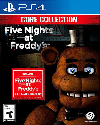 New Games Five Nights At Freddy S The Core Collection Ps4 Xbox One Switch In 2021 Five Nights At Freddy S Five Night Xbox One