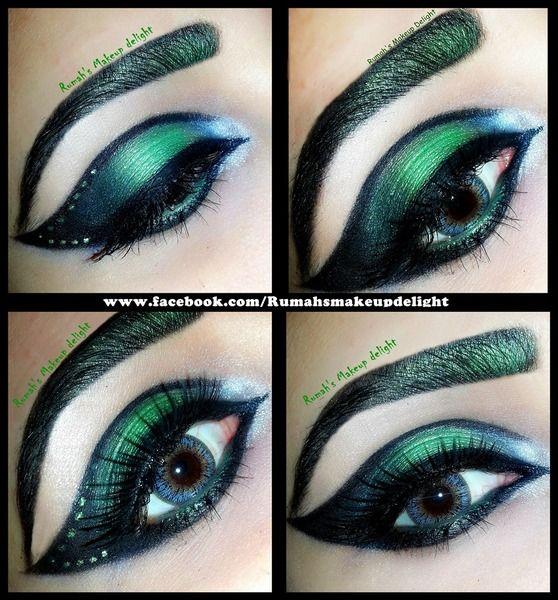 Green cat eye https://www.makeupbee.com/look.php?look_id=93921