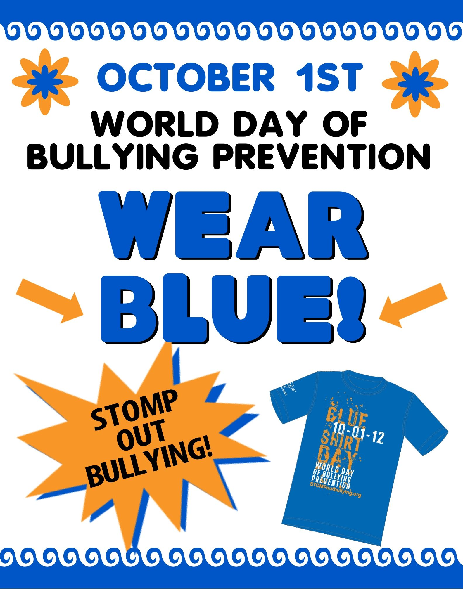 World Bullying Prevention Day! Stomp Out Bullying