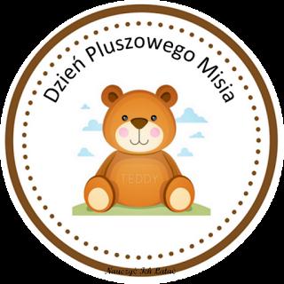 Nauczyć Ich Latać: Dzień Pluszowego Misia - materiały do pobrania |  Preschool crafts, Crafts for kids, Ladybug 1st birthdays