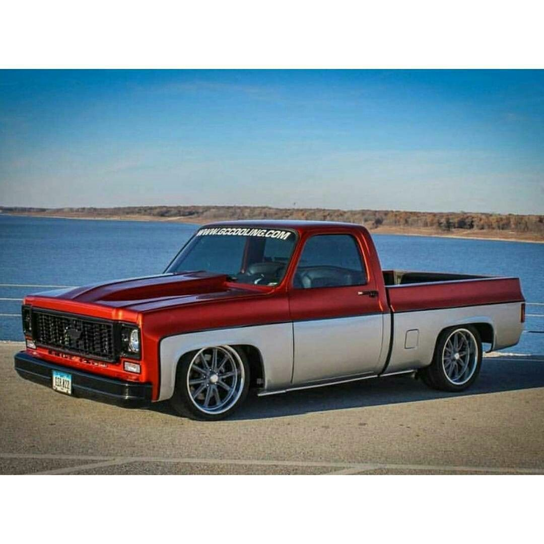 fant stica chevy silverado ss 87 chevy truck classic chevy trucks chevy pickups  [ 1080 x 1080 Pixel ]
