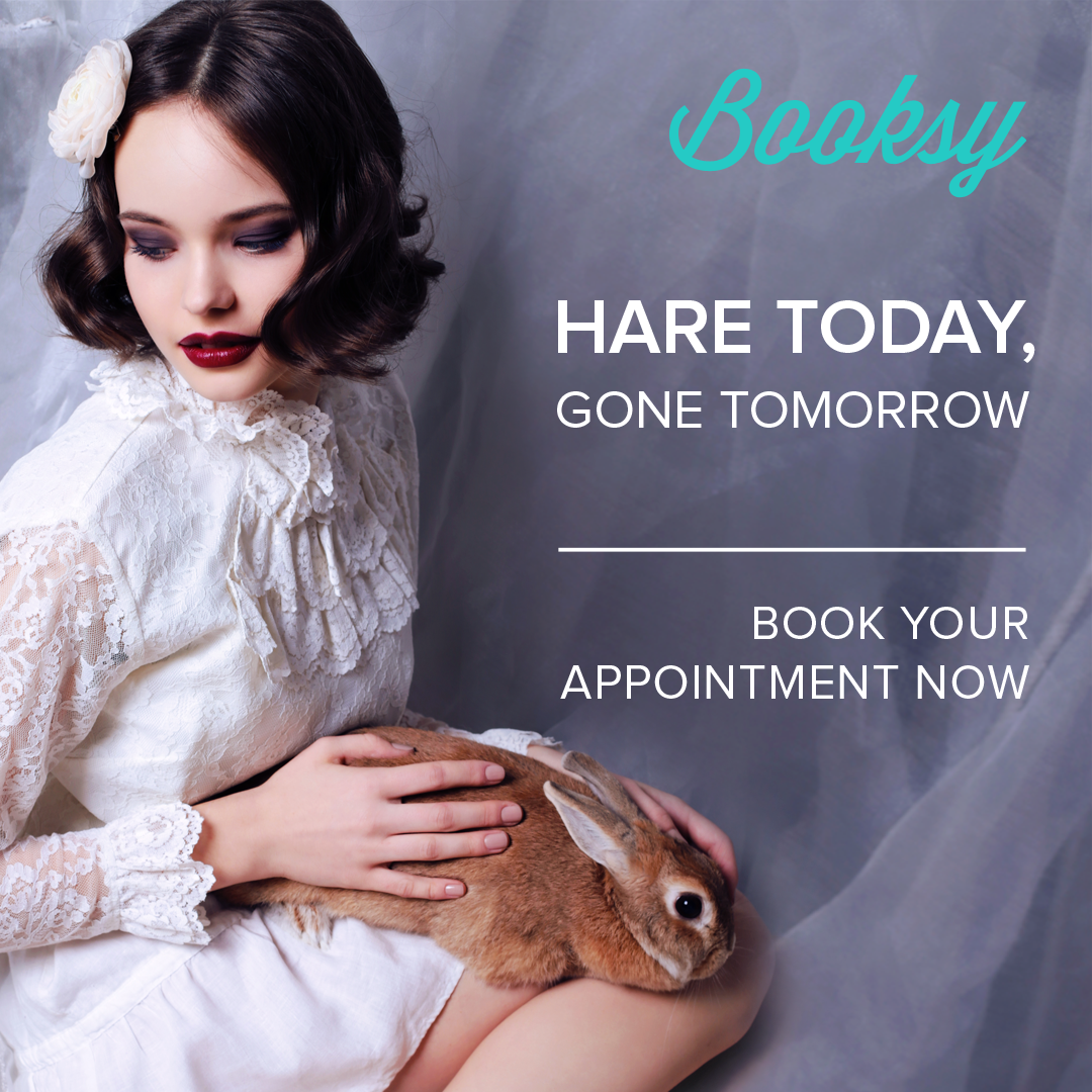Book the appointments in advance on booksy! 24/7 online