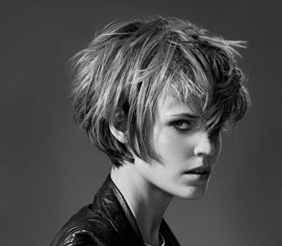 Nouveau modèles de coiffure 2015 (21) Cheveux courts