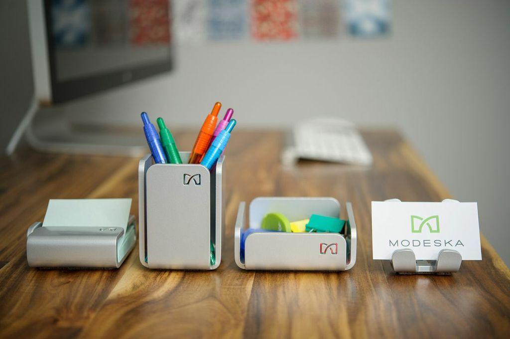 Modeska Modern Office Accessories Raznoe Metall Organajzer