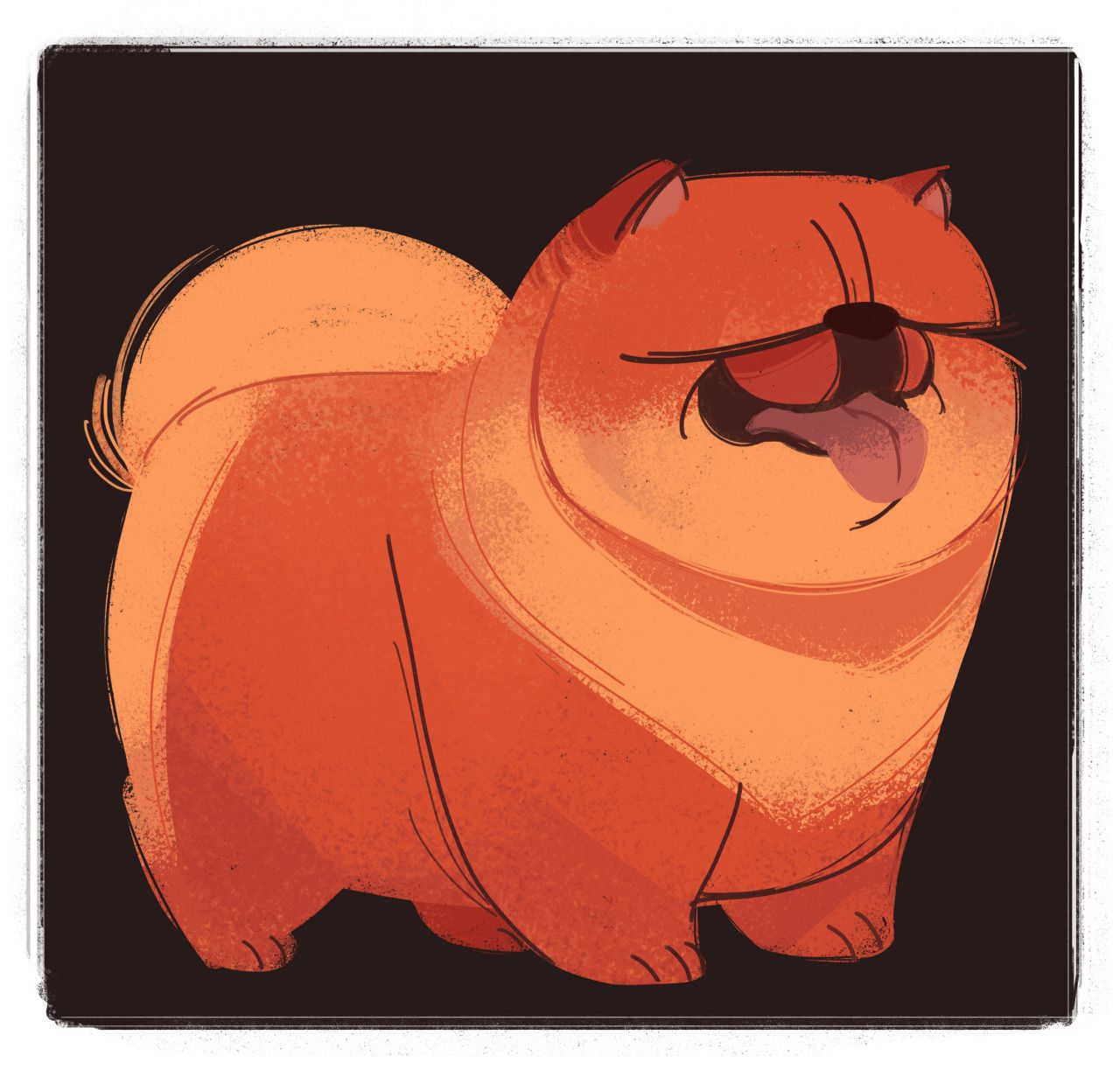 240 chow chow dog week day 7 that u0027s all for the dog drawings