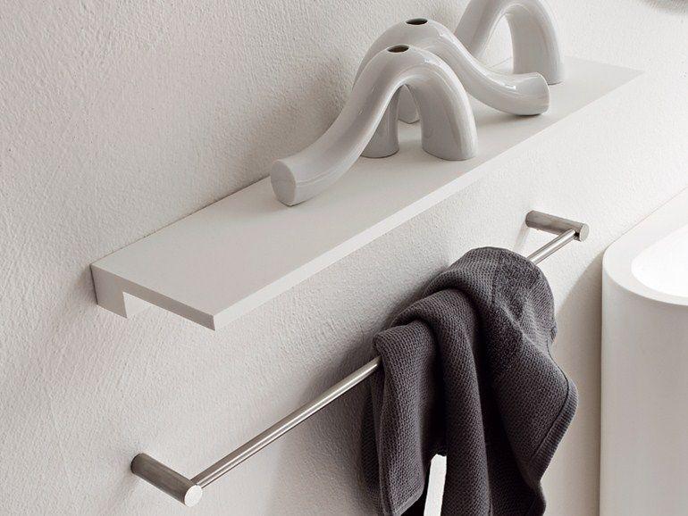 Badezimmer wandregal ~ Minimal wandregal für badezimmer by rexa design bad