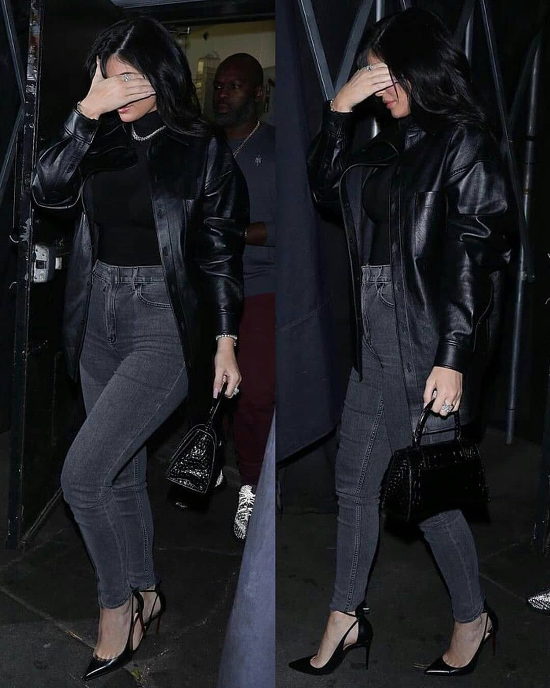 Kylie Jenner Fan Page Sto Instagram Kylie On Tuesday Night Next To Coney Kyliejenner Travisscott Sto Fashion Kylie Jenner Style Kylie Jenner Outfits [ 1350 x 1080 Pixel ]