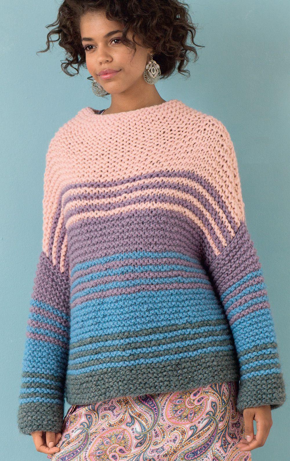 схема вязания спицами джемперов для женщин
