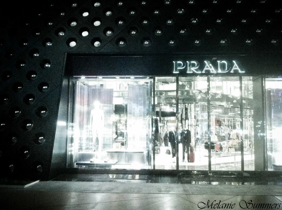 Prada in Las Vegas, Nevada Photo wall, Las vegas, Summer
