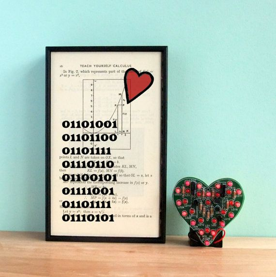 boyfriend gift - gift for him - geek art - geek gift - valentine's, Ideas