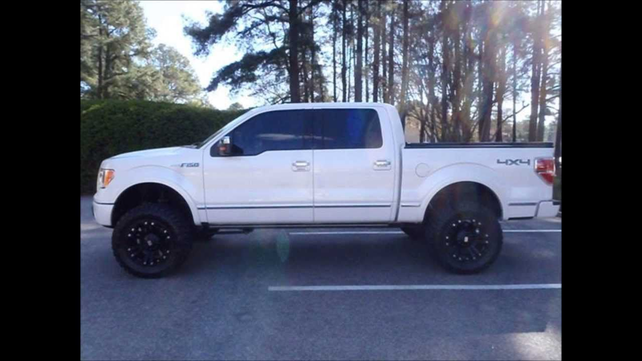 2010 ford f 150 platinum 4x4 lifted truck for sale