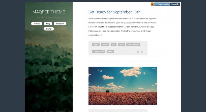 27 best free tumblr website template best free tumblr website