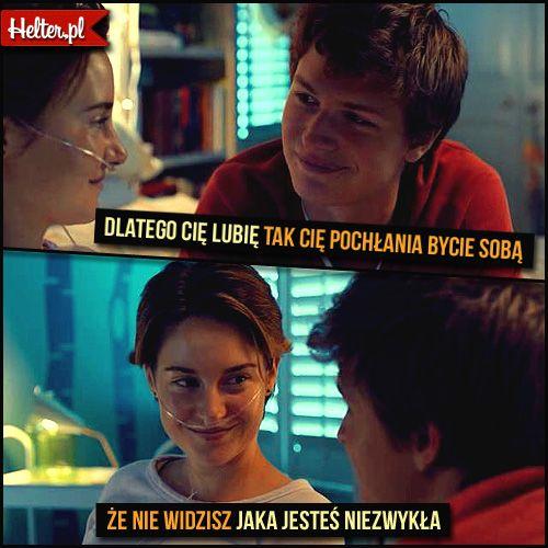 Miłość Gwiazdnaszychwina Thefaultinourstars Cytaty Film Kino