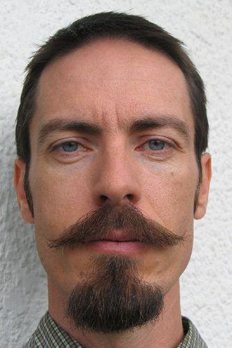 Facial hair. Handlebar mustache + beard. | Makeup Morgue ...