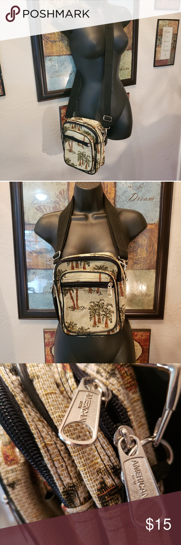 American uni crossbody purse in my posh closet pinterest