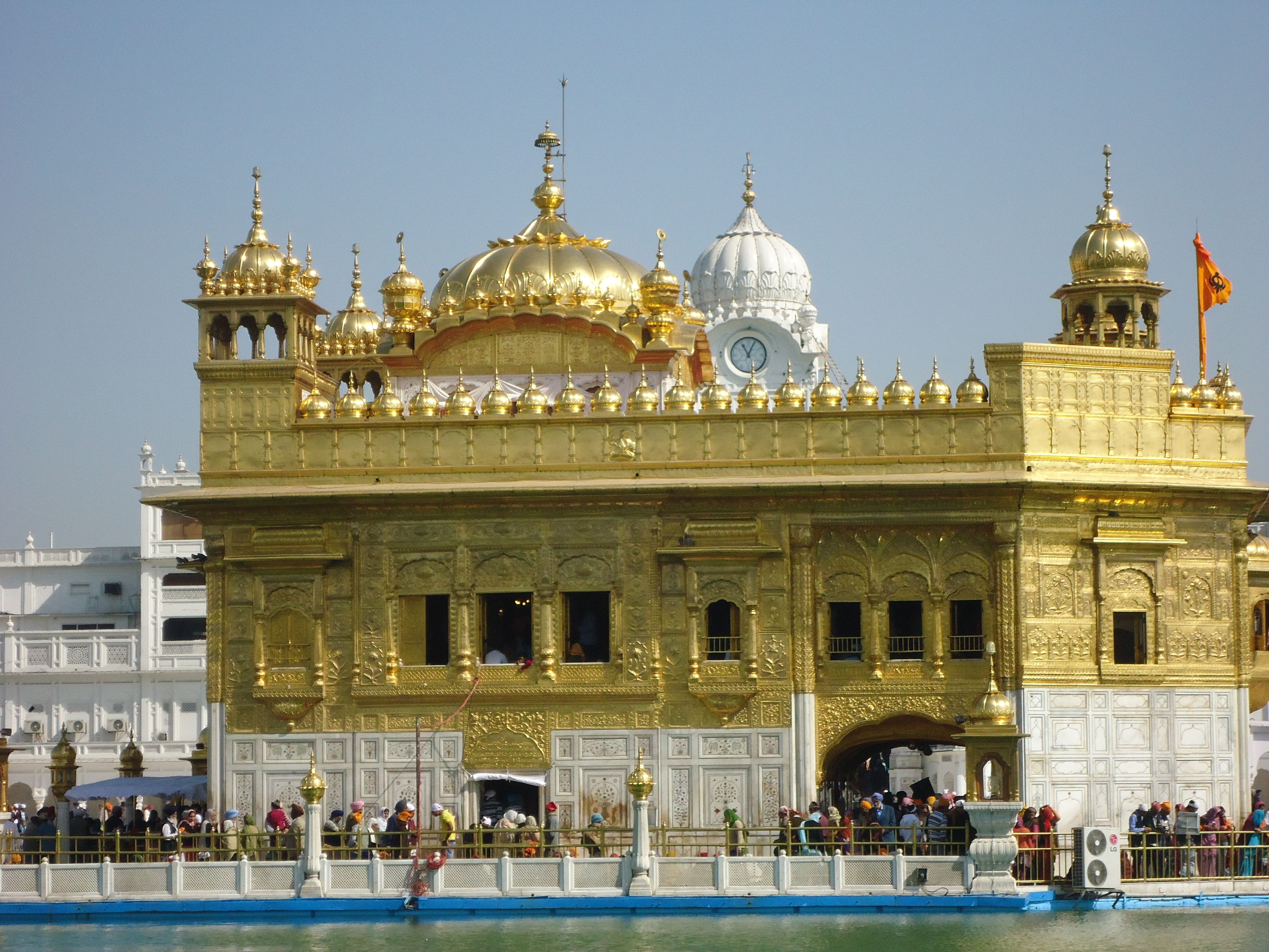 Golden Temple is the holiest Gurdwara of Sikhism, situated in the city of Amritsar, Punjab, India.