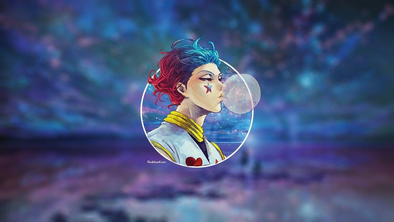 Anime Anime Boys Hisoka Hunter X Hunter Bubblegum Sky 720p Wallpaper Hdwallpaper Desktop Hunter X Hunter Hisoka Hunter Anime