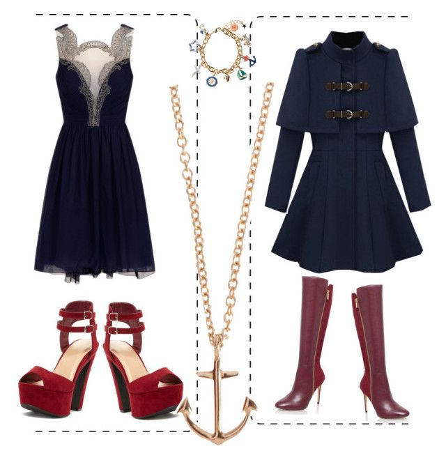 """""""In the Navy"""" by lewashin on Polyvore featuring MICHAEL Michael Kors, Monsoon and Minor Obsessions"""