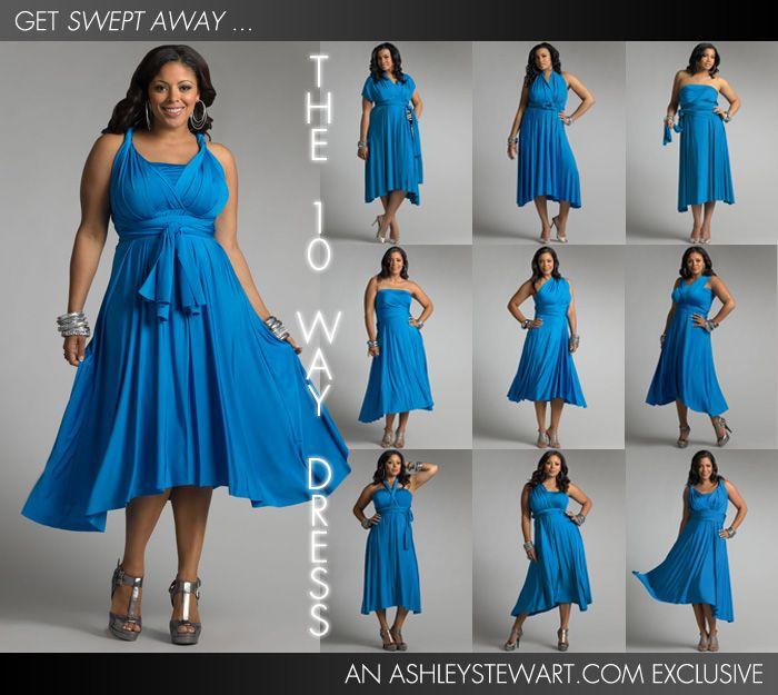 Ten Way Dress - Ashley Stewart - Web Exclusive  912fee7a6e95
