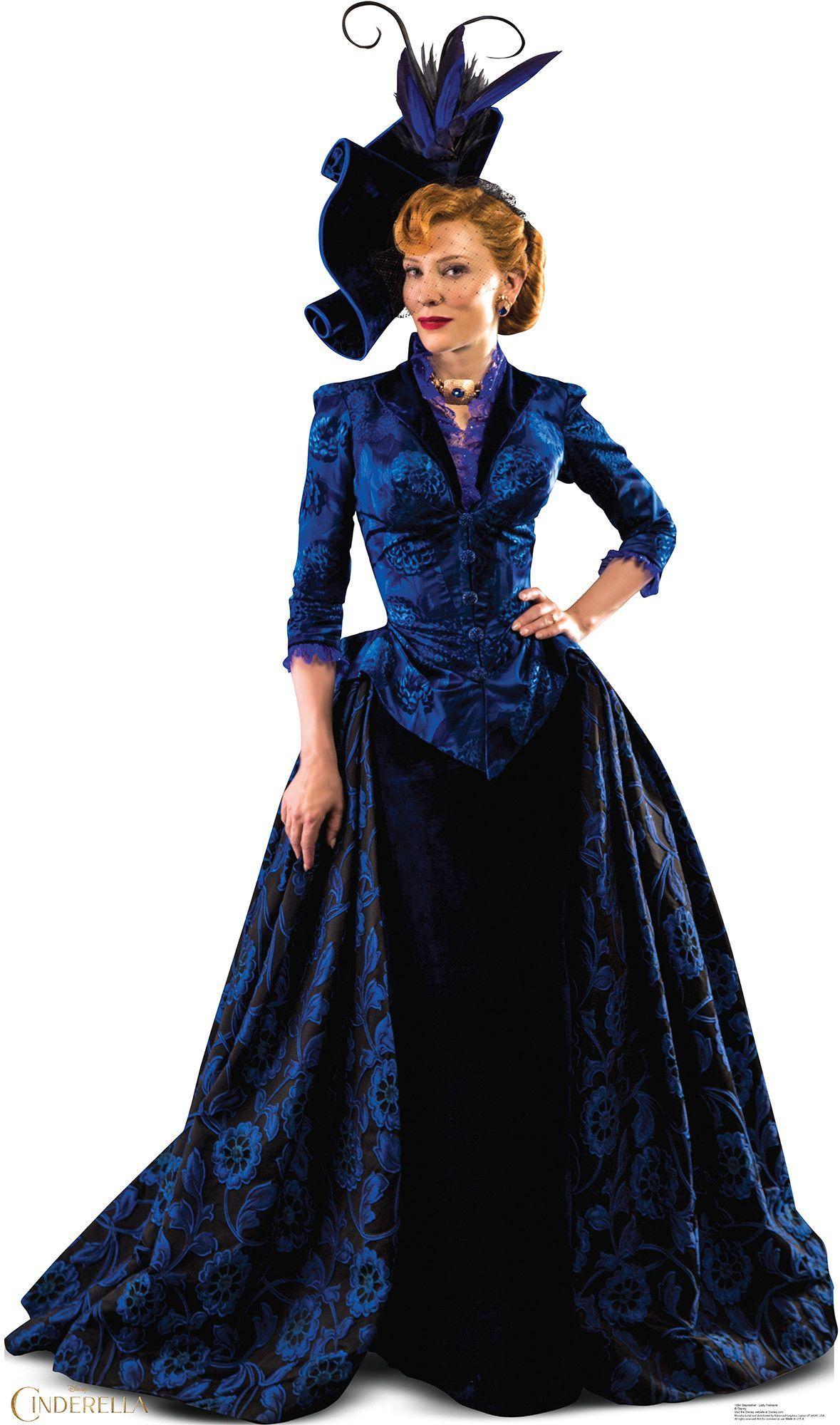 Dress up of cinderella - Cinderella 2015 Stepmother Cardboard Standup