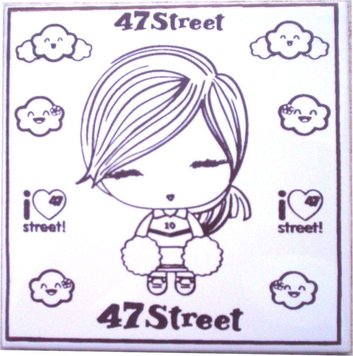 dibujos para pintar 47 street