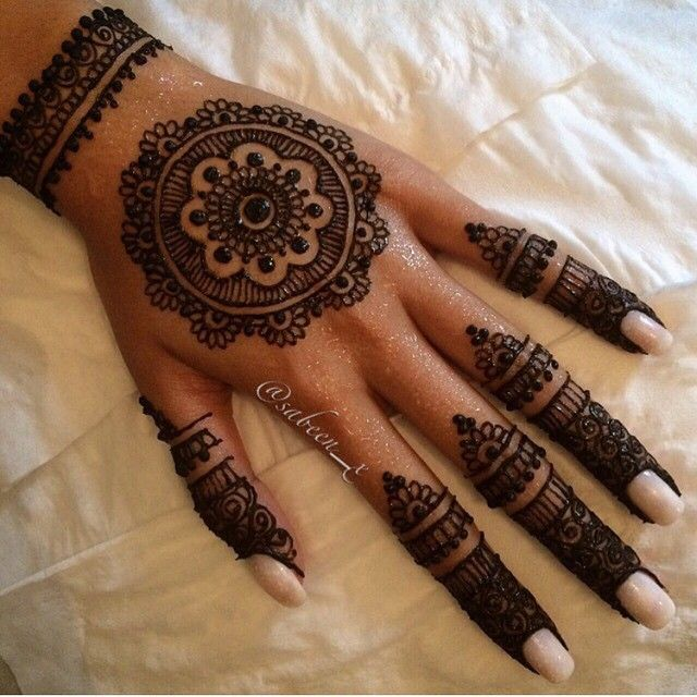 Henna Tattoo Designs, Simple