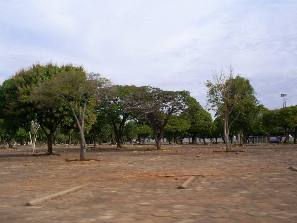 Estacionamento Da Ufms Campo Grande Ms Ufms Campo Grande E
