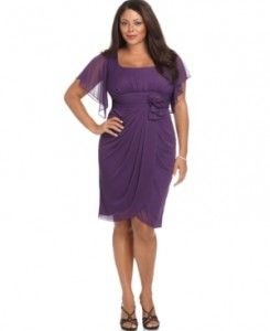 Plus Size Bridesmaid Dresses With Sleeves | Onyx Plus Size ...