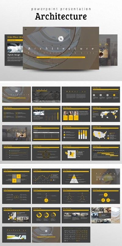Architecture Ppt Template 686159 Templates Ppt Template Ppt