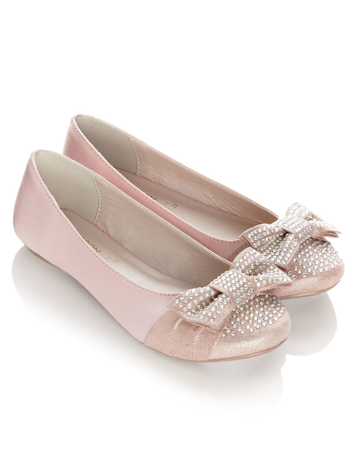 Pink Flower Girl Shoes Monsoon 22 Wedding Pinterest Flower