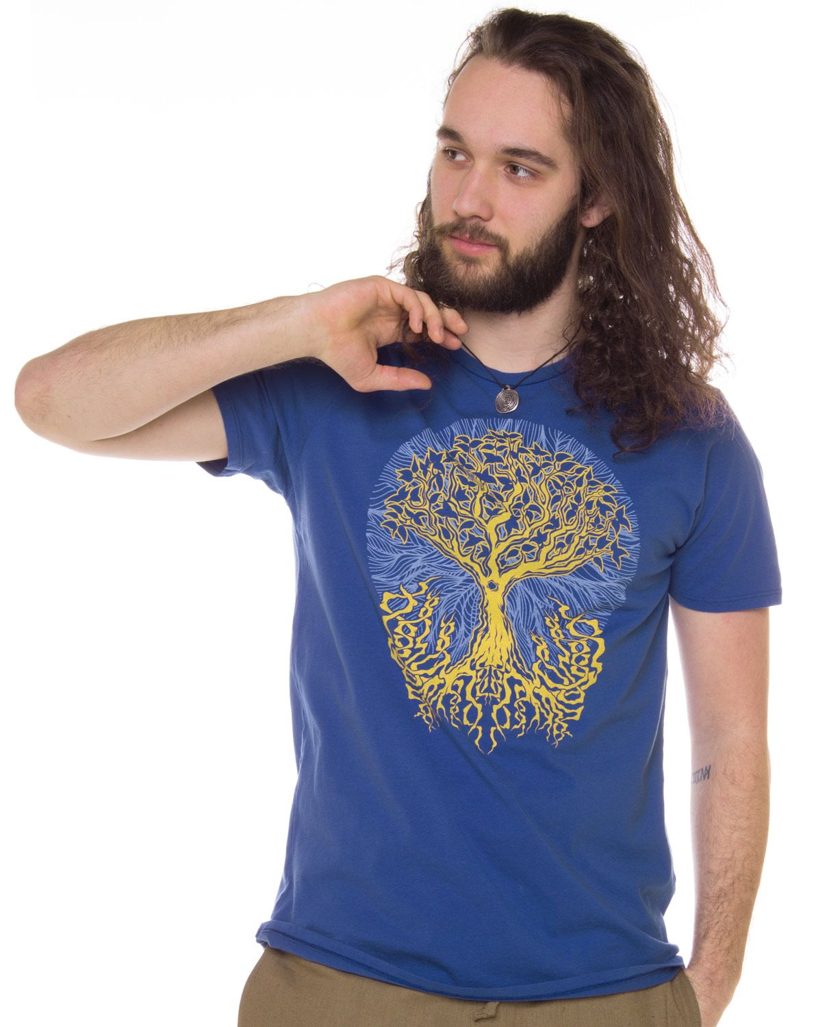 Tree of Life Men's Organic T-shirt: Soul Flower Clothing