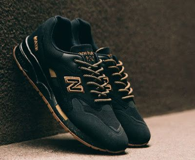 New Balance 1600 Terbaru Dengan Colorways Black Matte Gum Sepatu