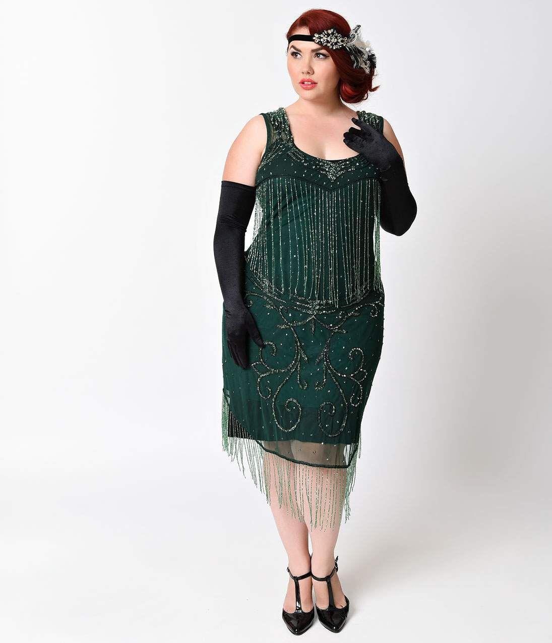 Plus Size Cocktail Dresses : 1920\'s Style Plus Size Cocktail Dress ...