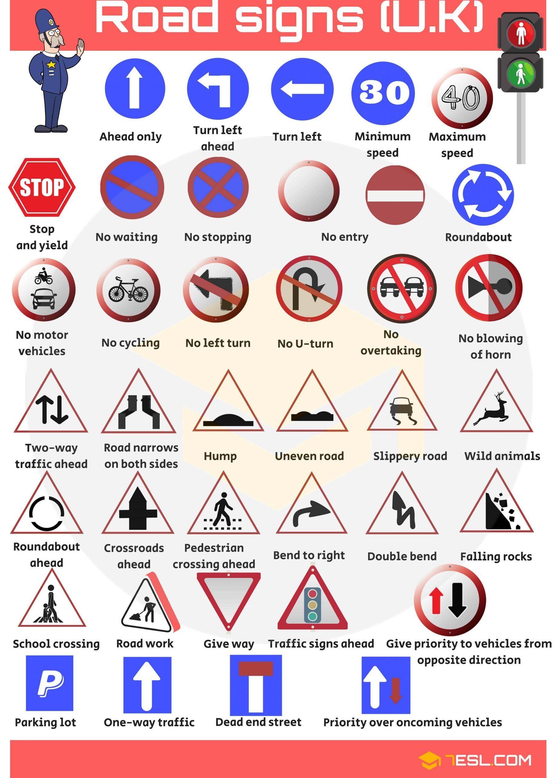 Safety Signs Worksheets For Kindergarten Road Signs